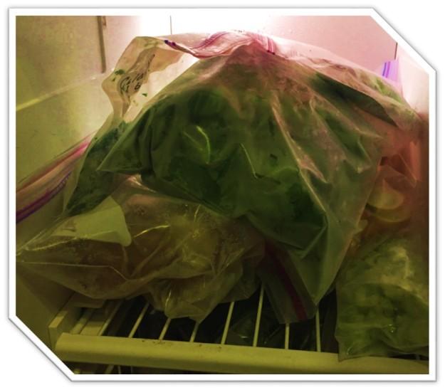 freezer veggies