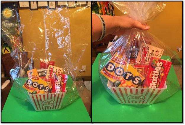 bagging the basket
