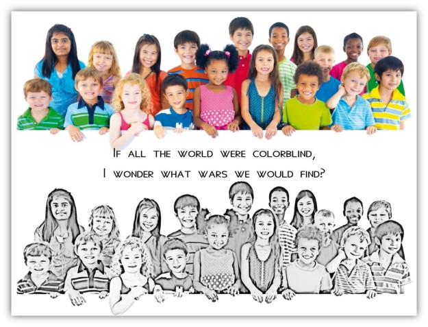 If al the world were colorblind