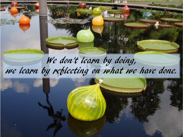 We learn by reflecting