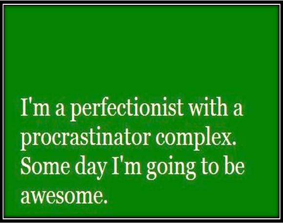 perfectionist-procrastinator